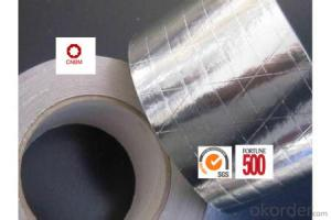 Aluminum Foil Tape Synthetic Rubber Based 22Micron