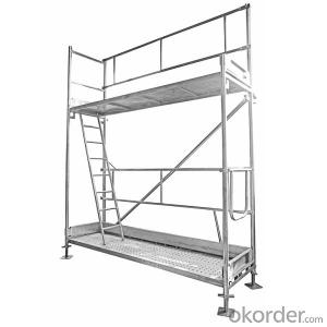 Euro Frame System Scaffolding  Steel Hot Dip Galvanized
