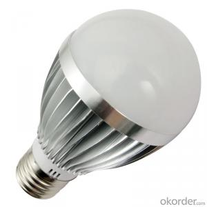 LED Bulb Light Waterproof 9W, CRI80, 60W UL