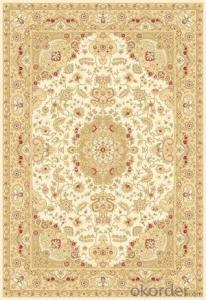 Viscose Wilton  Carpet and Rug Modern Persian Design