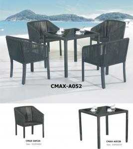 Line Rattan Outdoor Furniture Dinning Sets CMAX-A052