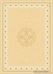 Viscose Carpet and Rug Wilton  Woven Floor Carpet Tile