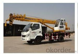 QY7  Rough Terrain Crane for lifting capacity of 7 ton