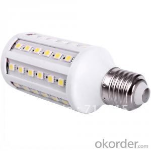 LED Corn Bulb Light Waterproof 60W 9W UL
