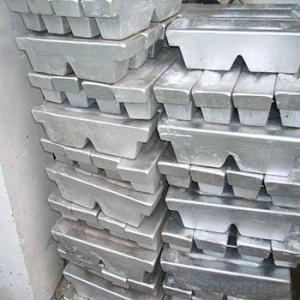 Aluminum Ingot with 99.7%~ 99.9% Wholesale  from Mills