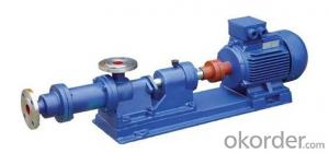 Pump, Concentrated Pump (Steel Shaft) I-1B Series