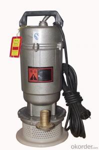 Q(D)X Small-size Submersible Pump Aluminium Pump Electric Pump