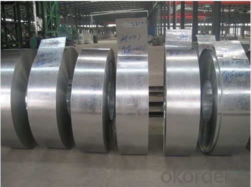Hot-Dip Galvanized Strip and Coils with Thickness 1.0mm