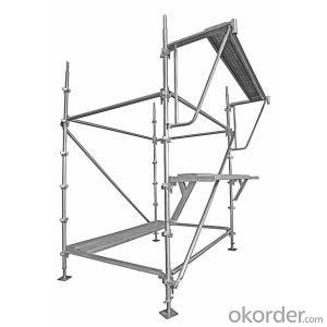 Australia Kwikstage System Scaffolding Q345 Hot Dip Galvanized Surface Treatment