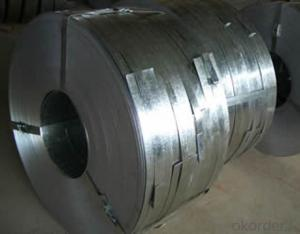 Galvanized Steel Strip with Width from 630mm