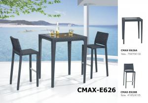 Outdoor Furniture Rattan Furniture Bar Sets CMAX-E626