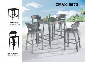 Garden Outdoor Furniture  Fashion Bar Sets PE Rattan CMAX-E670