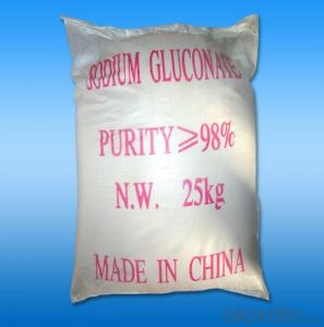 Sodium Gluconate Food Grade From CNBM China