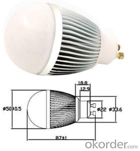 LED Bulb Light Waterproof 9W incandescent replacement, UL