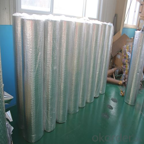 Aluminum Foil and Polyester Bubble for Insulation