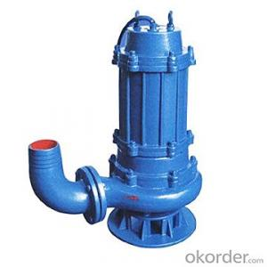 Submersible Sewage Pump, WQ Series Submersible Sewage Pump