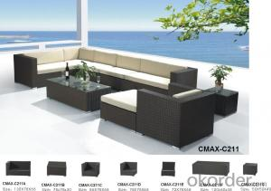 Outdoor Furniture Garden Patio Outdoor Sofa with Professional Workmanshipo CMAX-C211