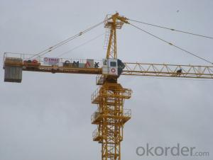 6T topless tower crane / tower crane with competitive price