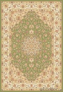 Viscose Carpet  Wilton Machine Persian Design Washable Floor Rug