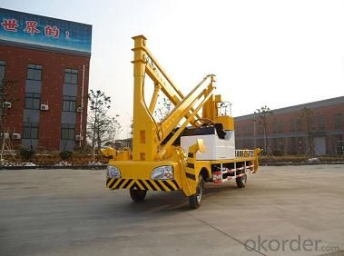Aerial work platform rated 500kg and max lifting height 14m