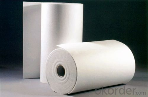 Ceramic Fiber Paper Sheet Resilient to Thermal Shock