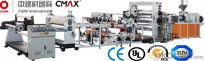 Plastic Sheet Extrusion Machine  For PVC