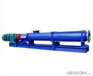 Single Ccrew Pump G-type Single Ccrew Pump (Stainless Steel Shaft)