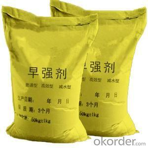Concrete Accelerator Chemical Admixture in High Quality