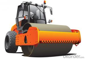 Single Drum Vibratory Rollers LSS2105 for sale