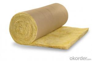 glass wool blanket waterproof thermal insulation