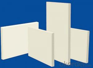 High Pure Heat Insulation Ceramic Fiber Board STD