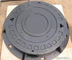 Manhole Cover Ductile Iron EN124 D400 Varieties of Choices