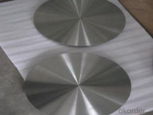 Titanium Alloy Disc GR5 TI-6Al-4V  in China Low Price High Quality
