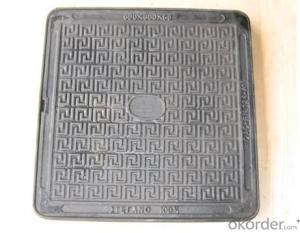 Manhole Cover D400 Heavy Duty Square Set Excellent Quality