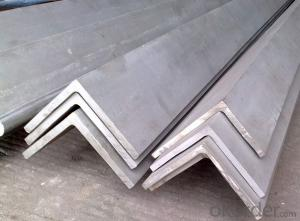 Hot Rolled Steel Angle with Good Quality with The Size 120*120mm