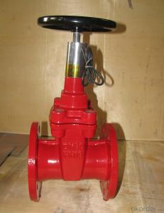 DI Gate Valve Flanged Type Ductile Iron