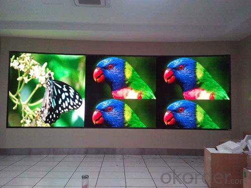 Led Display Screen New Pitch 10mm High Resolution High Quality