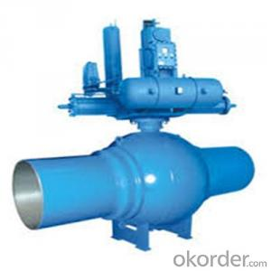 High-performace pipeline ball valve DN 2 inch