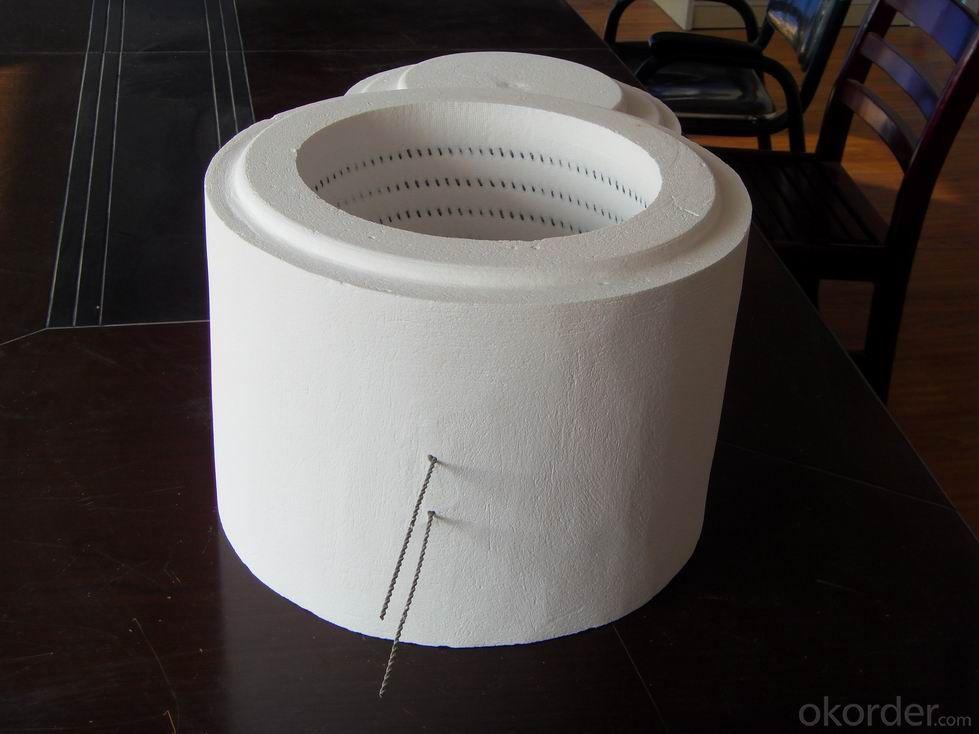 ceramic Fiber Tube Heaters Used in Refractory Field
