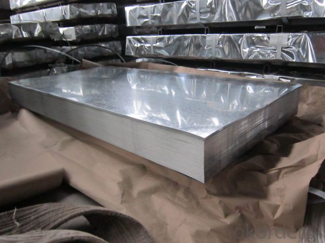Hot dipped Galvanized Steel Sheet in Sheet