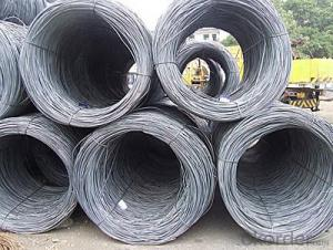 Hot Rolled Steel Wire Rod with Good Quality with The Size 6.5mm