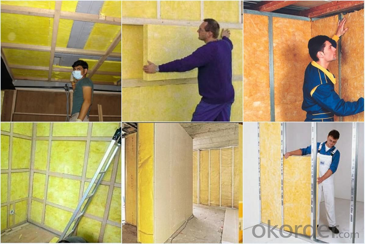 Thermal Insulation and Fireproof Insulation glass wool price and glass wool insulation
