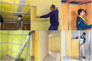 free sample offered glass wool board/glass wool insulation/glass wool price
