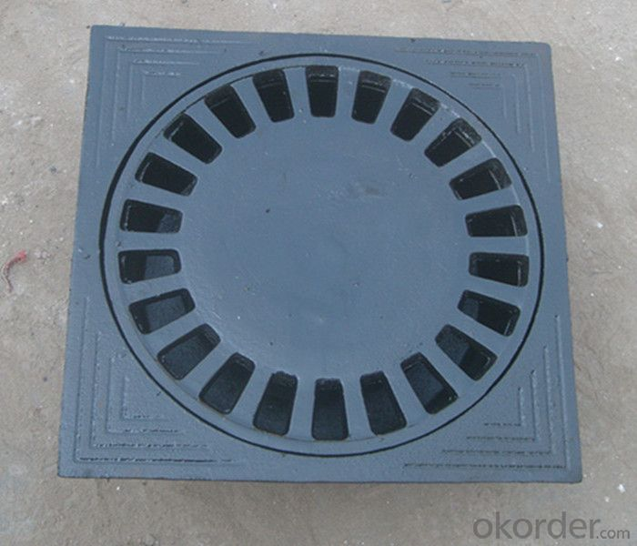 Manhole Cover Precision Casting Ductile Cast Iron Made in China