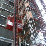 Construction Hoist SC200Z,by Aluminum Molded Board, Punched-plate or Figured Aluminm Board