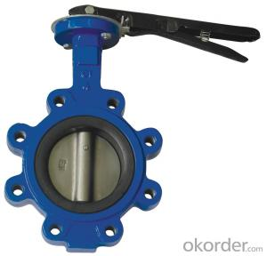 Butterfly Valve DN350 Turbine Type Made in China Low Price