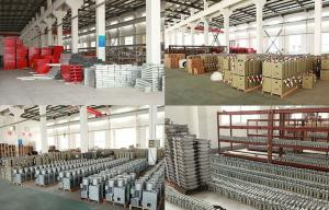 Iron Suspended Platform Parts , Counter Weight For Suspended Platform