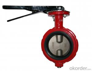 Butterfly Valve DN80 Turbine Type Hand Wheel