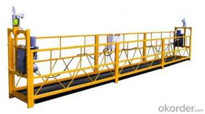ZLP1000 1000 kg Safe Suspended Working Platform Scaffold Systems