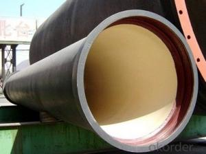 Ductile Iron Pipe DN80-DN400 EN545/EN598/ISO2531 For Waste Water